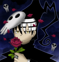 A rose from the shinigami by Azurenna