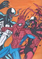 Maximum Carnage Tribute Part 14-The Final Battle by RobertMacQuarrie1