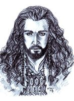 Hobbit: Thorin by kiko-burza