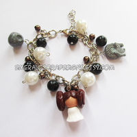 .:Star Wars - Leia Charm Bracelet:. by EmeraldSora