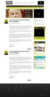 Layout - Blog Novas Ideias by lcdesigner