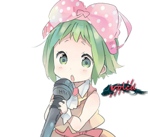 cute Gumi xD by Volca07