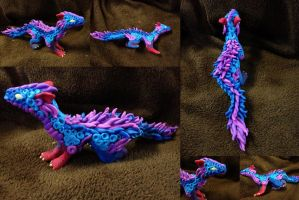 Kyrali - Dragon statue - SOLD by SonsationalCreations