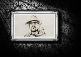 Nate Dogg on wall by 96design
