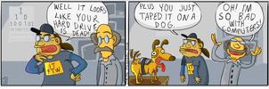 Another random comic strip I made lol by ratman90