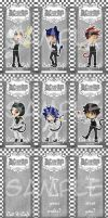DGM - catxcafe bookmark set by vividfantasy7