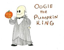 Oogie the Pumpkin King by MsVillainess