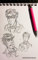 Handsome Jim Precious Tim by ZombiDJ