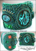 Cuff: Emerald Dream by annafjellborg