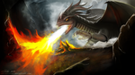 Dragon Fire by ABluSkittle