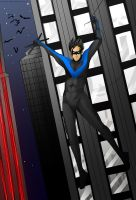 Nightwing by Uccan