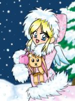 Snow Angel by evilekeeper