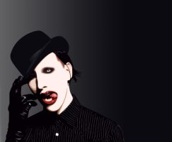 Marilyn Manson by dopedgirl