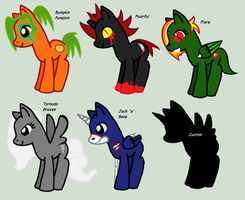 Evil Pony Adopts! by StormTheRaichu