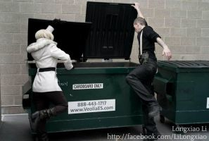Dumpster Diving by MissOutlaw