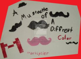 Markiplier Stache of a diffrent Color by PrussiaXCanadalove