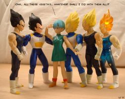 Bulma's Predicament by Spencers13
