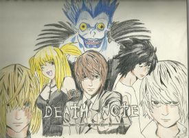 Death Note gang by ElvenWarrior14