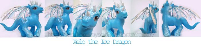 Xelo -Ice Dragon- by SasukeRoxMySox2