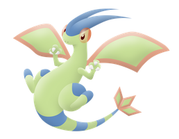 Shiny Flygon by Rubii16