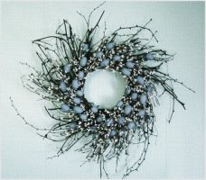 Blue egg Wreath by Toxic-Muffins-Studio