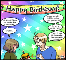 APH - Happy Birthday Alexis by Hazel-Almonds