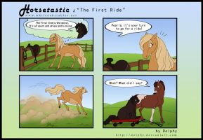 Horsetastic - The First Ride by DolphyDolphiana