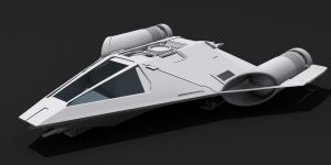 Star Wars Koensayr Fighter/Bomber WIP by AdamKop