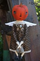 Annette the Pumpkin Angel by AnastasiasArts