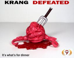 Krang Defeated by Unicron9