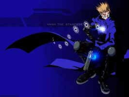 Vash - Blue Lantern by What-the-Gaff