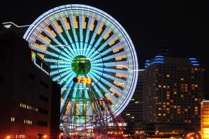 yokohama ferris wheel III by shod