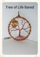 Bared Tree Of Life Pendant by LadyAriessTemptra