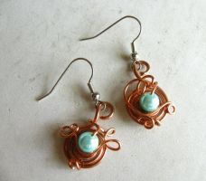 ariel earrings by tennessea