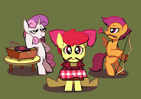 Cutie Mark Matchmakers by Karzahnii