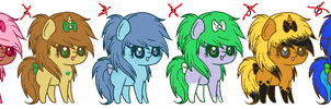 Scene Ponys 1 :Closed!: by ViolaAdopts