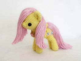 fluttershy miniplush by MasterPlanner