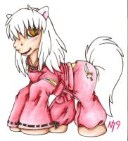 MLP InuYasha by Neotokyo9