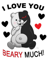Danganronpa Valentine: Monokuma Love! by FrozenClaws
