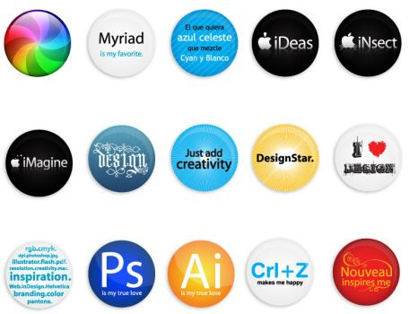 Designer Pins by paulsample