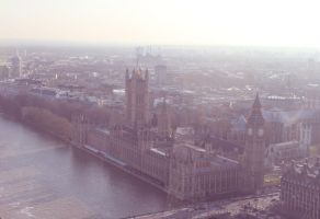 Big Ben and the Houses of Parliament by keksblubb