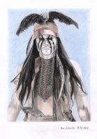 Johnny Depp - Tonto by shaman-art