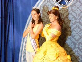 Belle Meets A Beauty Queen by SantosPhillipCarlo