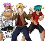 Commission: Ryoga's Boys, Part I by R-Legend