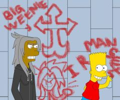 Bart disrespects Xemnas by Disneyfreak007
