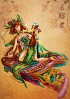 4 lady of Chineses by Bowlarn-lunla