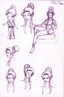 Lilith - 2014 sketch concepts by CloserRook