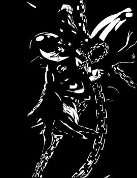 SPAWN-Black-and-White by AWhite919