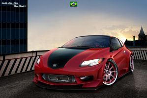 Honda CR-Z WTB'10 by MurilloDesign