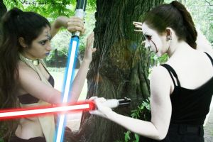 The duel Foto 01 by Darthsandr